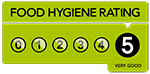 Five Star Food Hygiene Rating